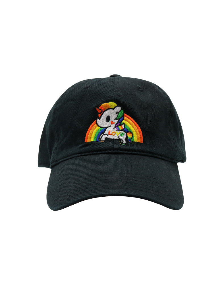 Pride Dad Hat Front View