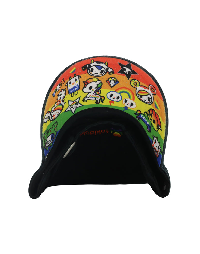 Pride Dad Hat Sublimated Brim