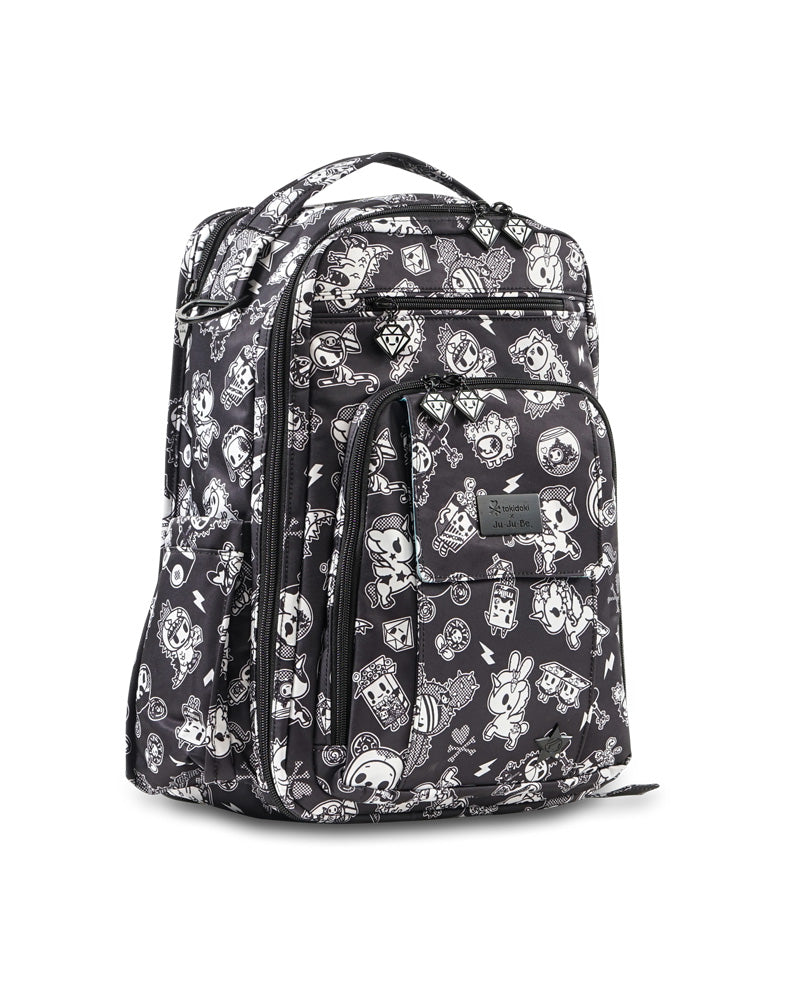 tokidoki x Ju-Ju-Be Be Right Back Backpack Queen's Court front side