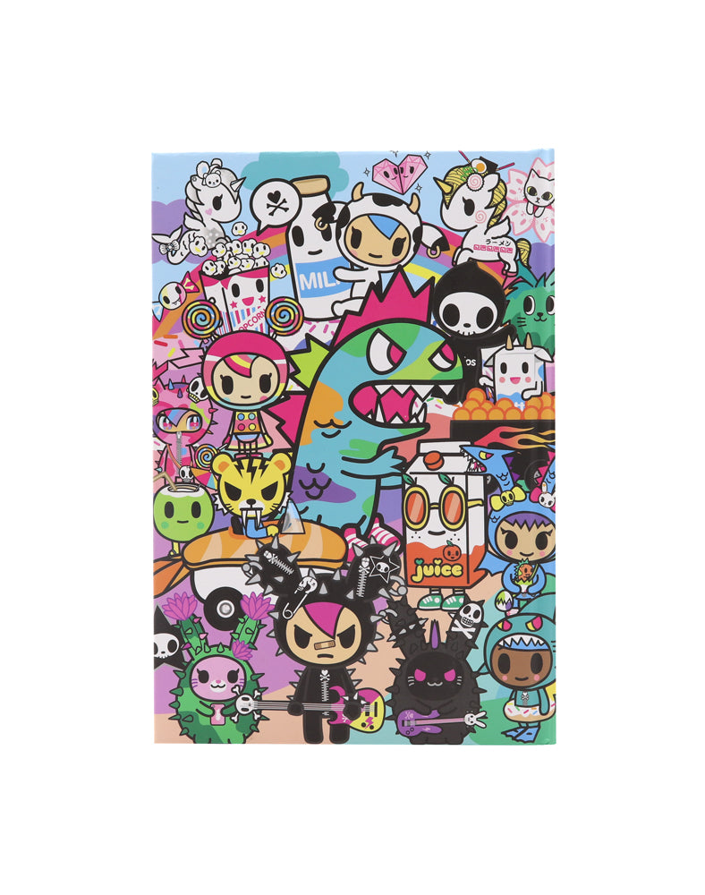 Rainbow Friends Notebook back