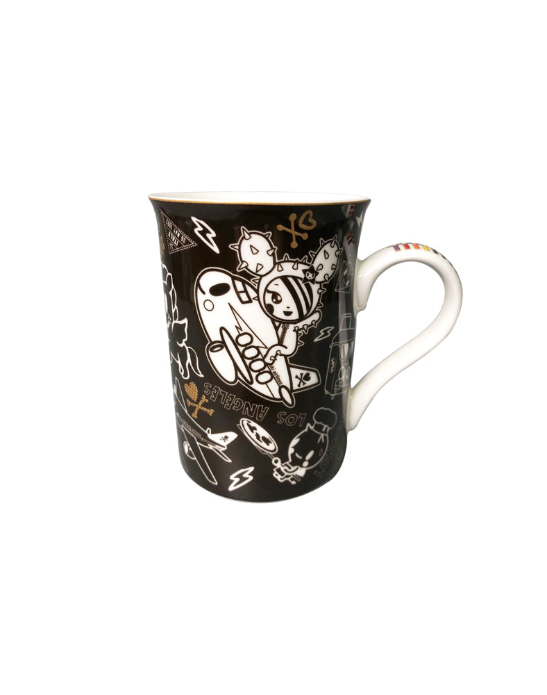 Rainbow Series Black Ceramic Mug