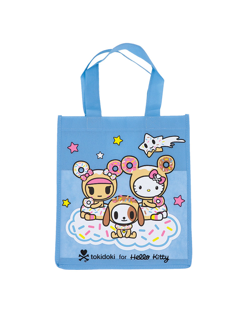 tokidoki x Hello Kitty Sky Blue Reusable Shopping Bag