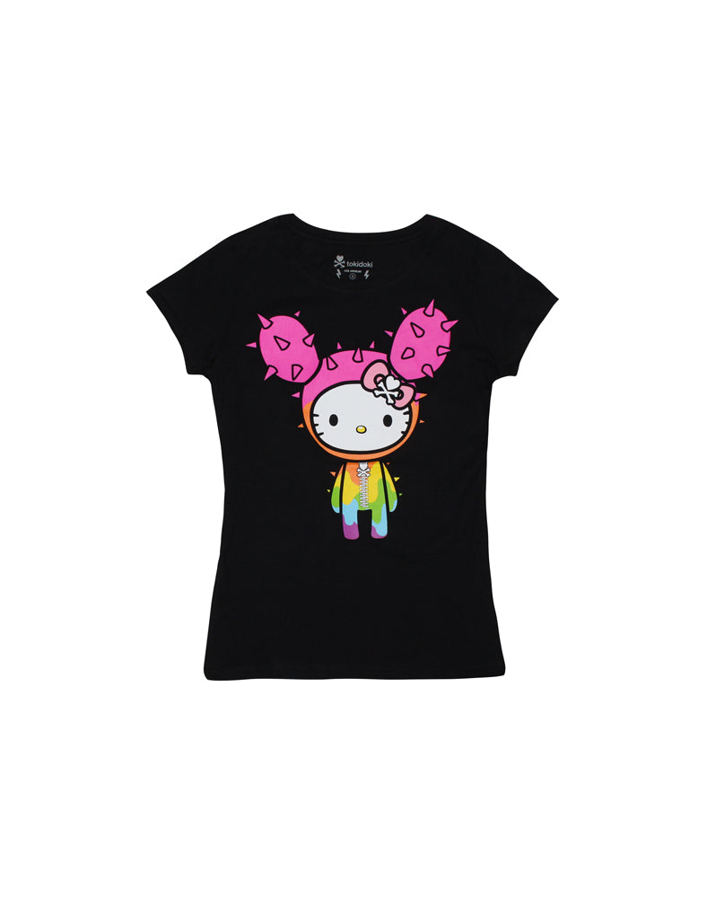 tokidoki-Con tokidoki x Hello Kitty Dripped Kitty Tee