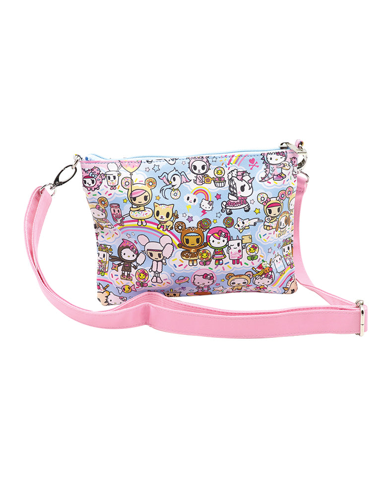 tokidoki x Hello Kitty Sky Blue Sacoche Bag Back