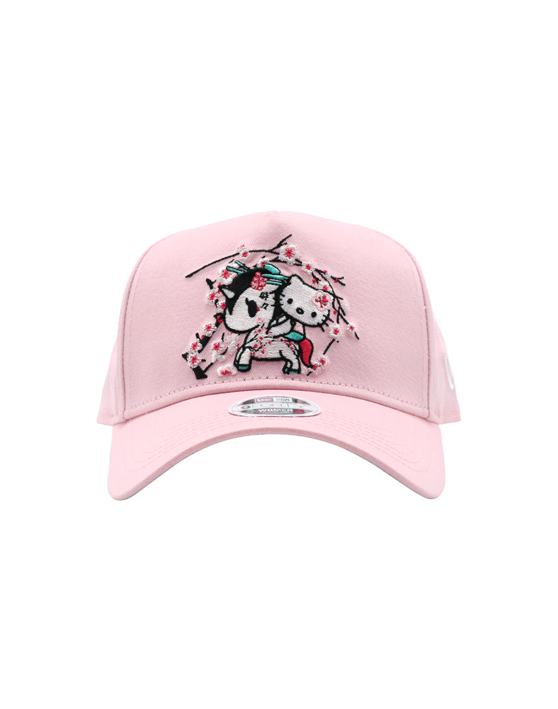 tokidoki x Hello Kitty Sakura Kitty Women's Snapback front