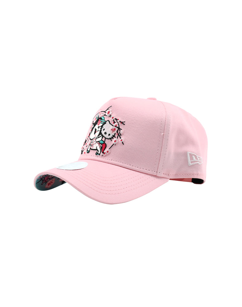 f0fd620f2 tokidoki x Hello Kitty Sakura Kitty Women's Snapback front side. tokidoki x Hello  Kitty Sakura Kitty Women's Snapback front side