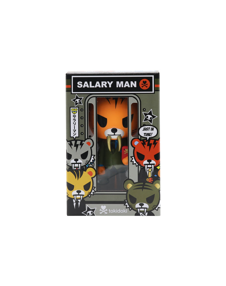Salary Man Tiger Vinyl - Orange Packaging
