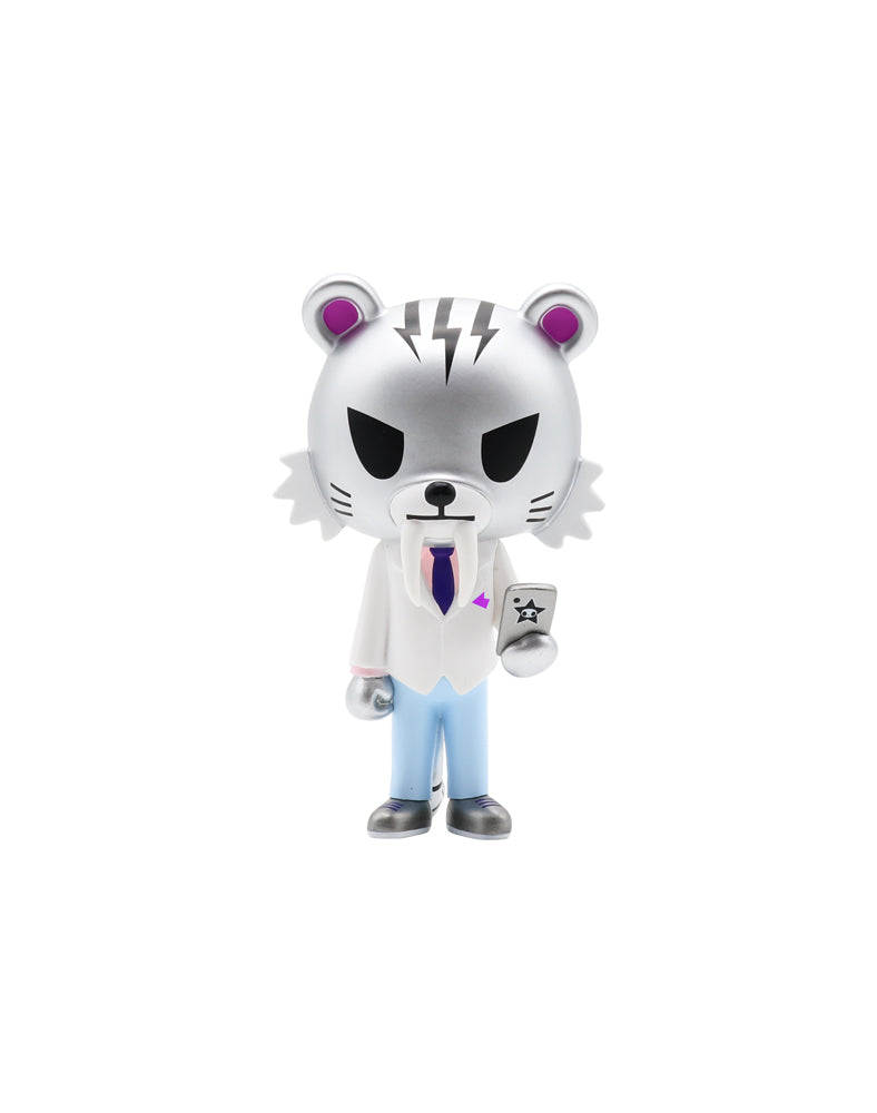 Salary Man Tiger Vinyl (Silver)