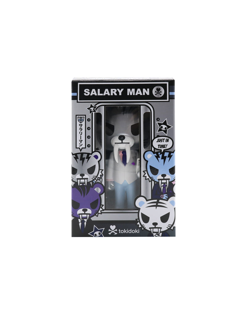 Salary Man Tiger Vinyl (Silver) Packaging