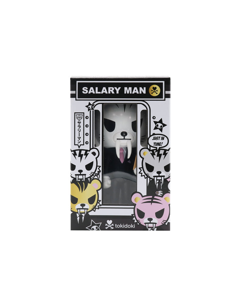 Salary Man Tiger Vinyl (Iridescent) Packaging