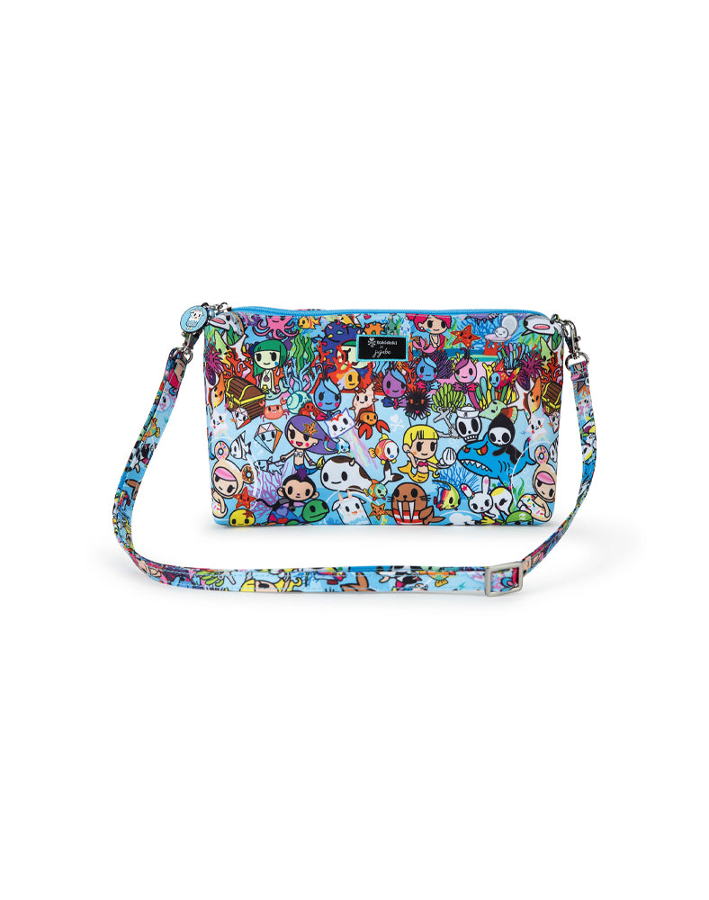tokidoki x JuJuBe Be Quick Clutch Sea Amo 2.0 Front