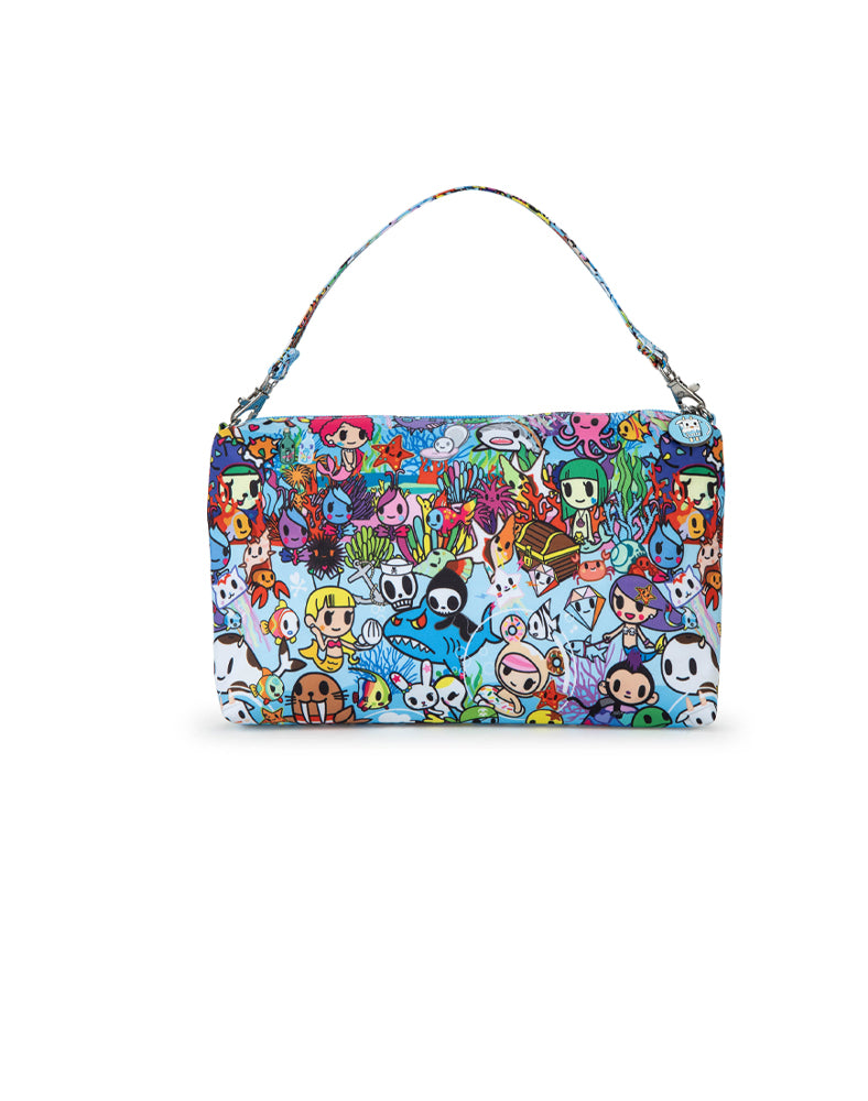 tokidoki x JuJuBe Be Quick Clutch Sea Amo 2.0 Back