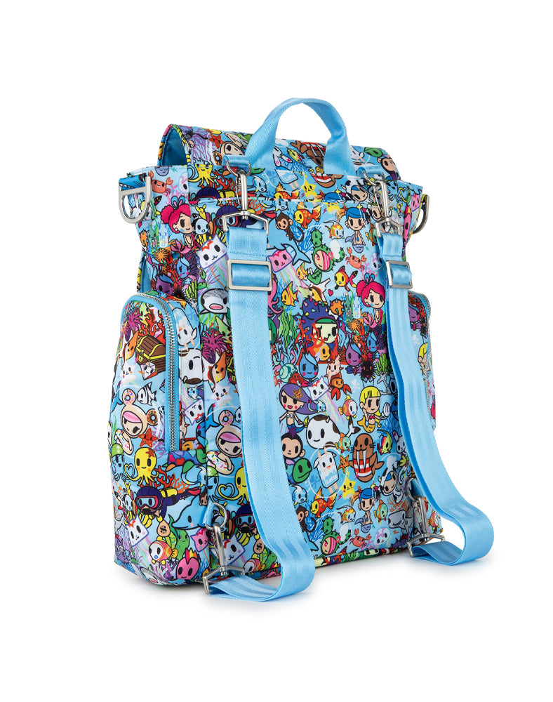 tokidoki x JuJuBe Be Sporty Sea Amo 2.0 Back