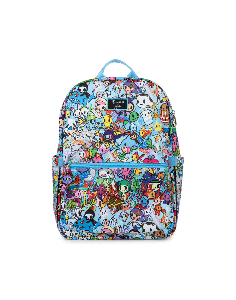 tokidoki x JuJuBe Midi Backpack Sea Amo 2.0 Front