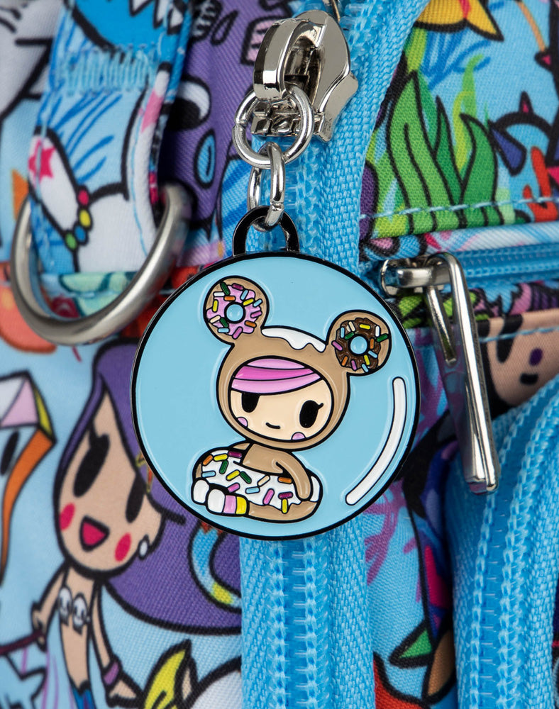 tokidoki x JuJuBe Zipper Pull Blind Box Sea Amo 2.0 Donutella