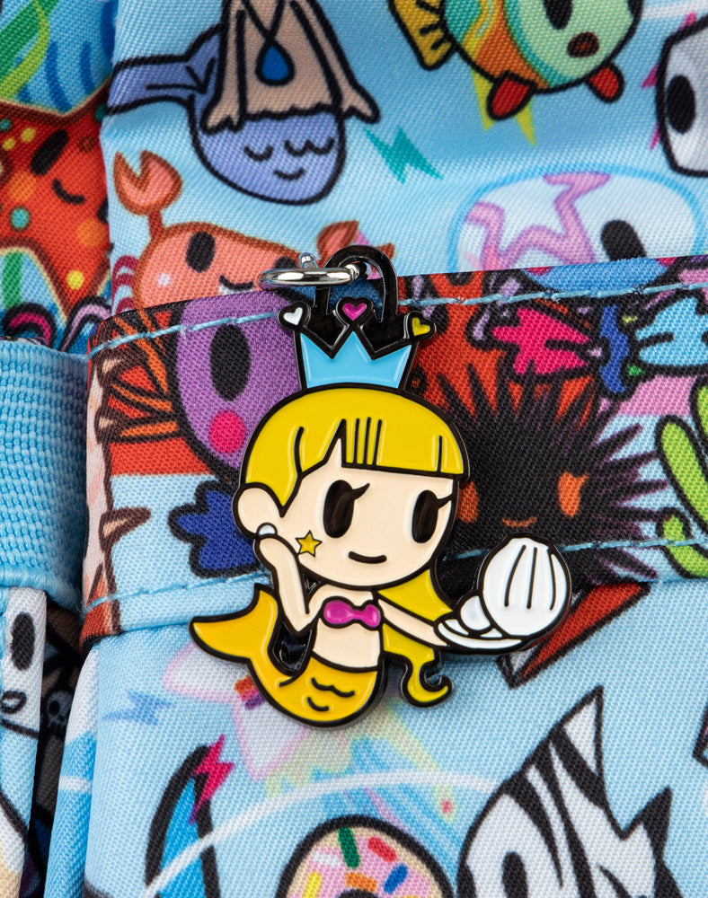 tokidoki x JuJuBe Zipper Pull Blind Box Sea Amo 2.0 Goldie