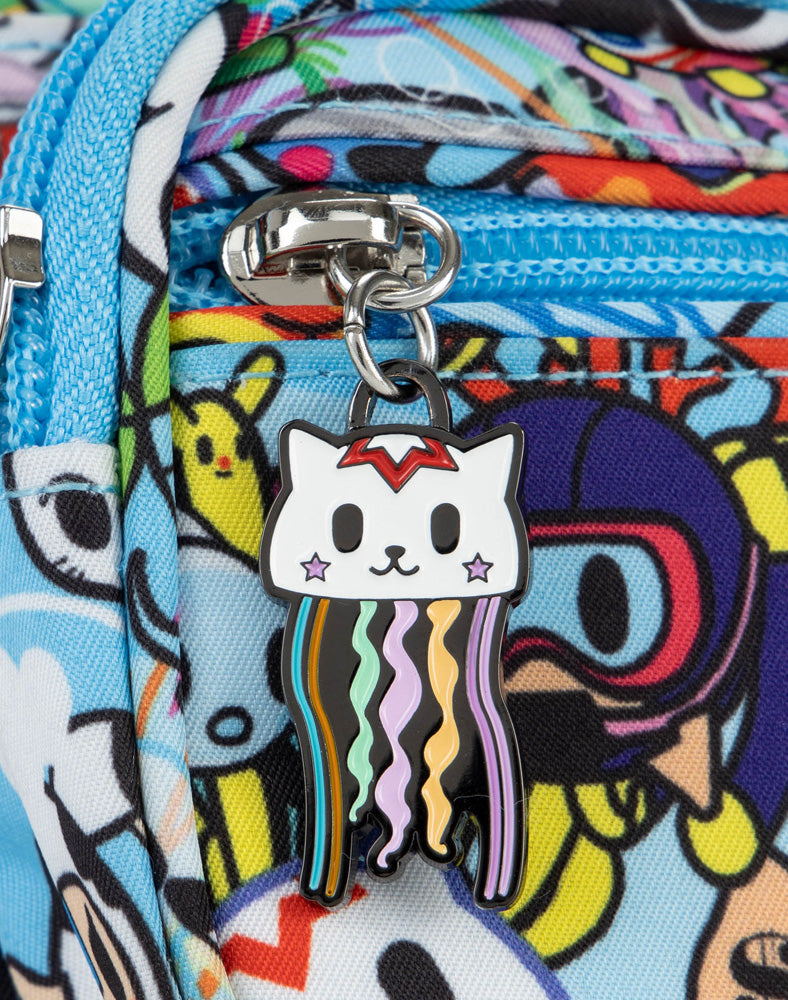tokidoki x JuJuBe Zipper Pull Blind Box Sea Amo 2.0 Jelly Cat