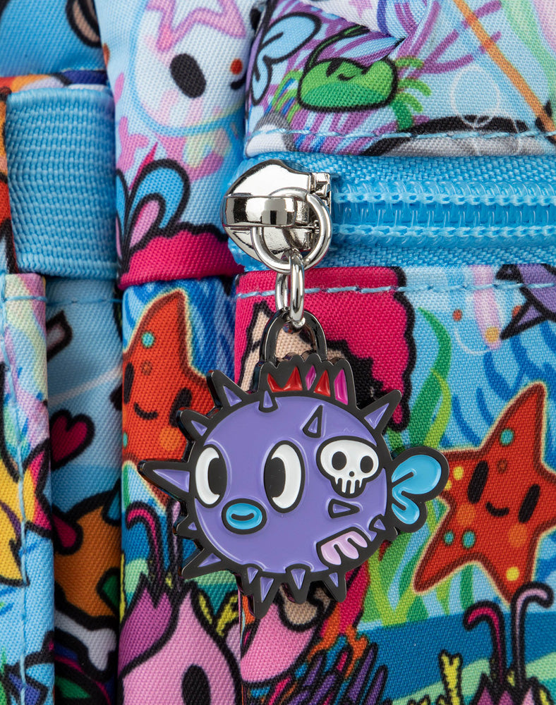 tokidoki x JuJuBe Zipper Pull Blind Box Sea Amo 2.0 Pufferfish