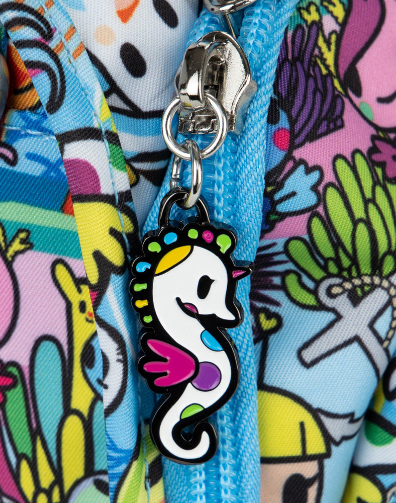 tokidoki x JuJuBe Zipper Pull Blind Box Sea Amo 2.0 Sea Amo