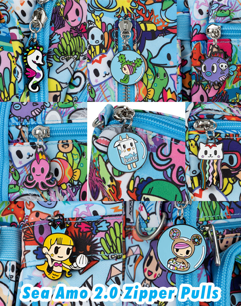 tokidoki x JuJuBe Zipper Pull Blind Box Sea Amo 2.0