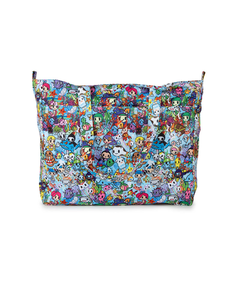 tokidoki x JuJuBe Super Be Plus Tote Sea Amo 2.0 Back