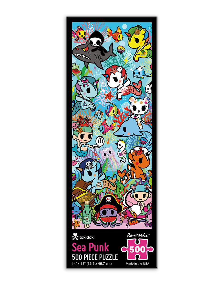 Sea Punk 500 Piece Puzzle Packaging (Front)