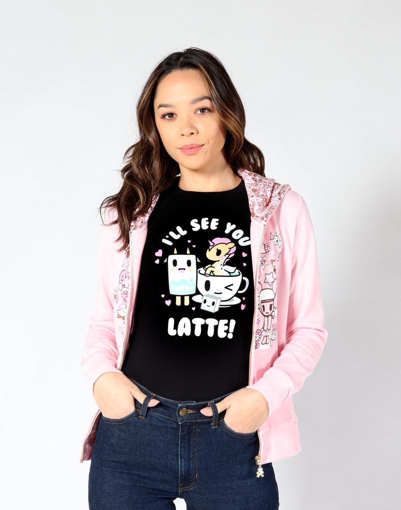 See You Latte Tee front