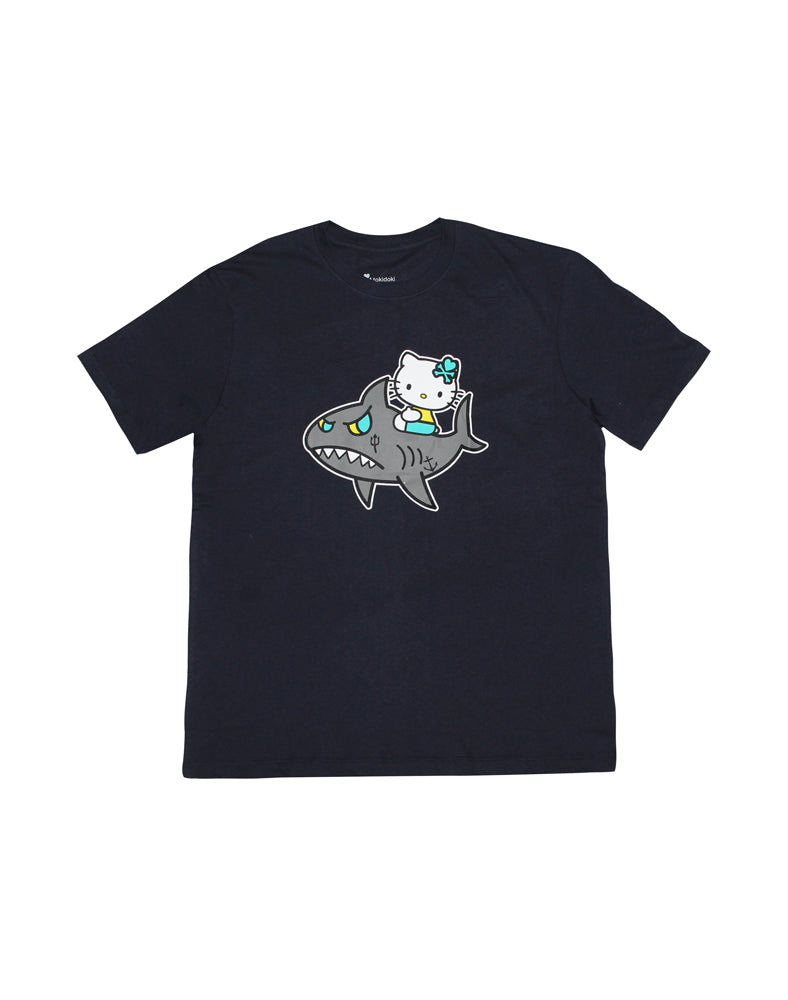 tokidoki-Con tokidoki x Hello Kitty Hello Kitty Sharky Tee (Unisex)