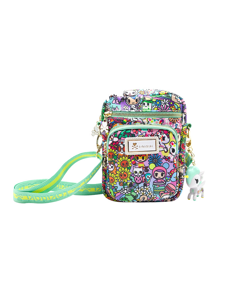 tokidoki Flower Power Mini Crossbody Front