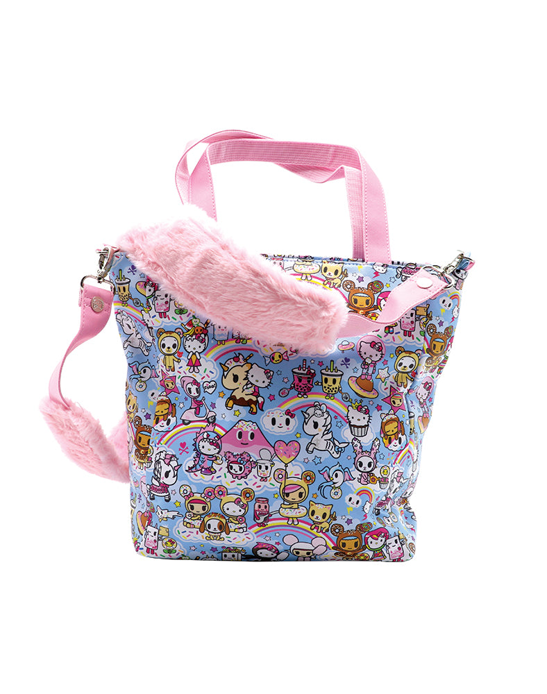 tokidoki x Hello Kitty Sky Blue Shoulder Bag Back