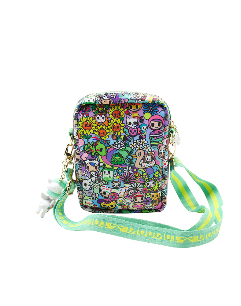 tokidoki Flower Power Mini Crossbody Back