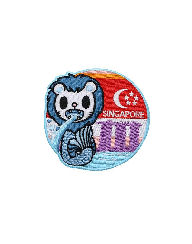 Travel Singapore Iron-on Patch