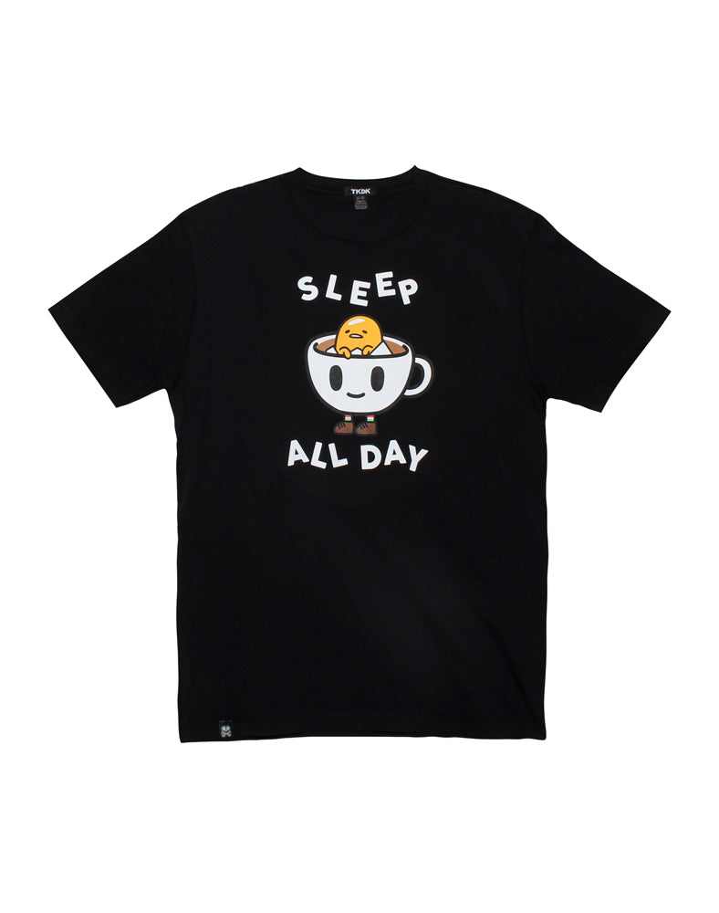 tokidoki x gudetama Sleep All Day Gudetama Tee - Flat