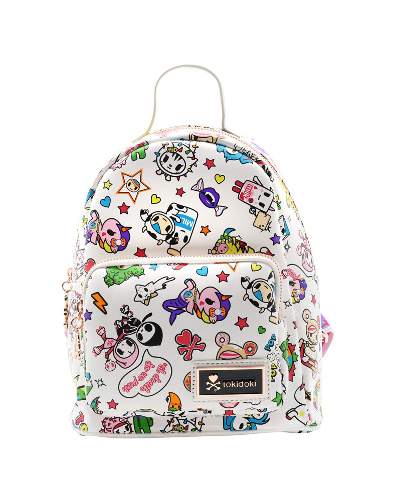 tokidoki Denim Daze Mini Backpack Front