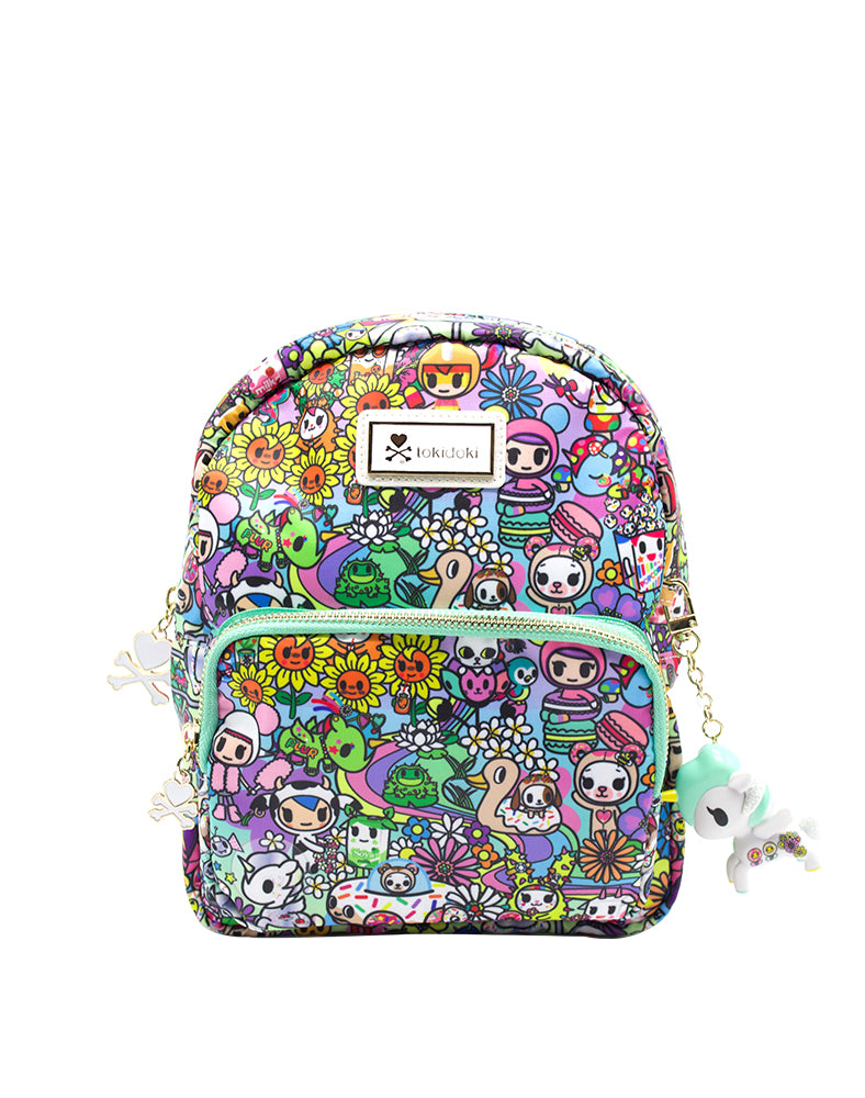 tokidoki Flower Power Mini Backpack Front