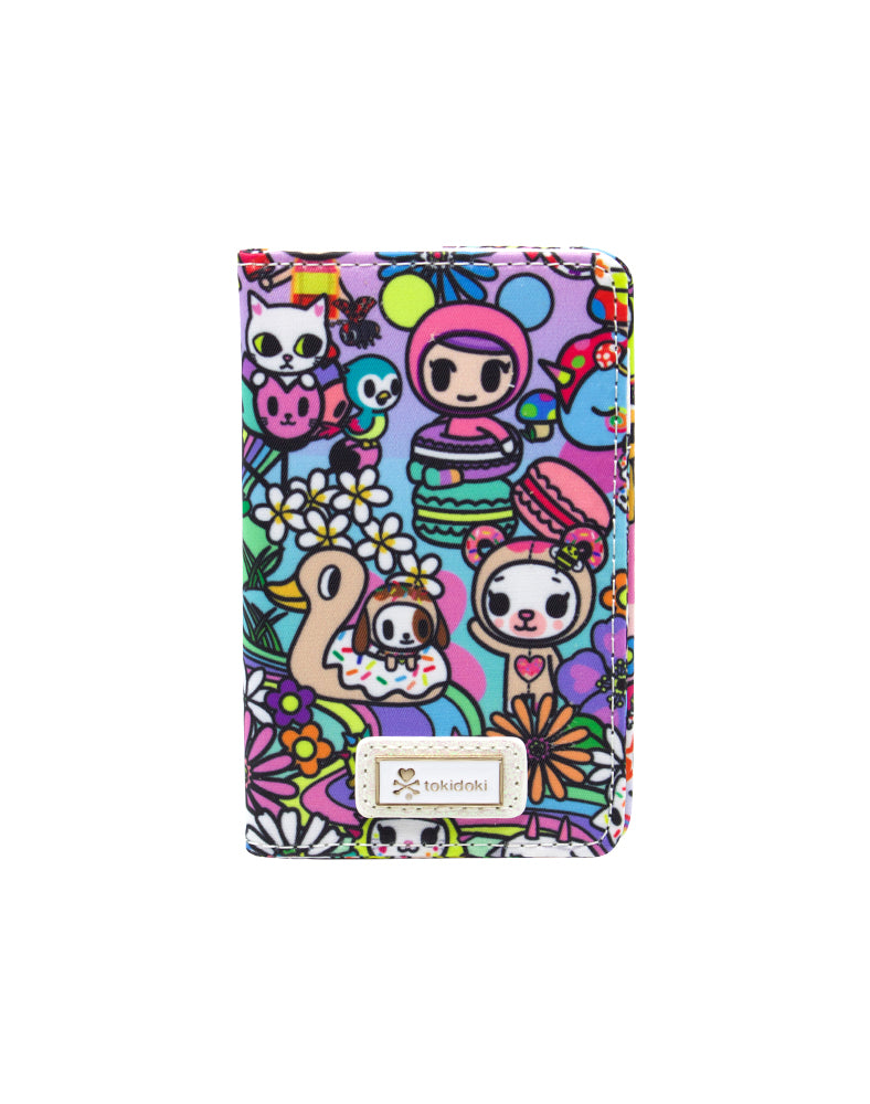 Flower Power Small Bifold Wallet Front