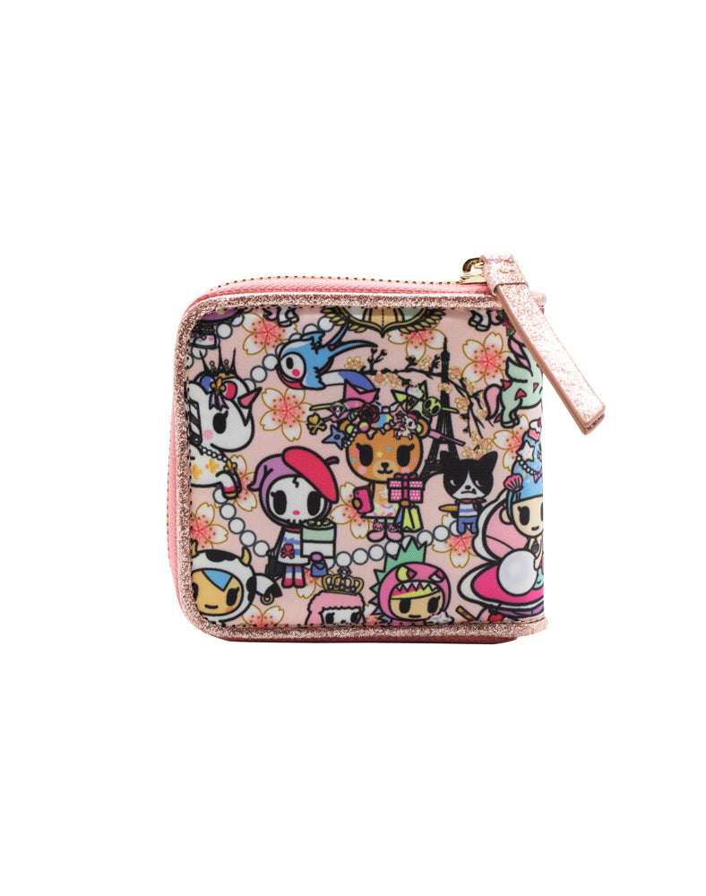 Kawaii Confections Small Zip Around Wallet