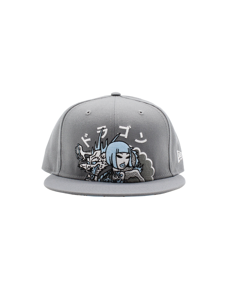 Smoking Dragon Snapback Front