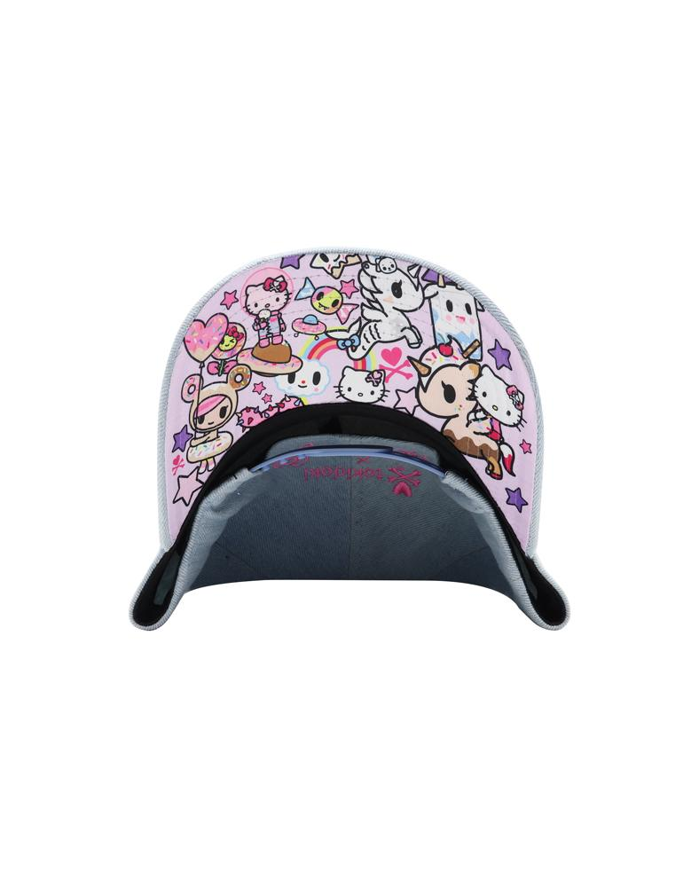 tokidoki x Spring Boba Kitty Women's Snapback Under Brim