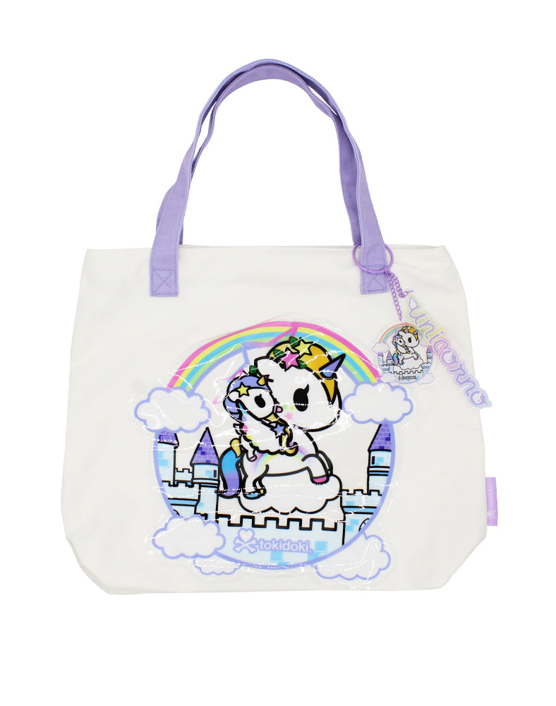 Star Fairy & Twinkle Unicorno Canvas Tote