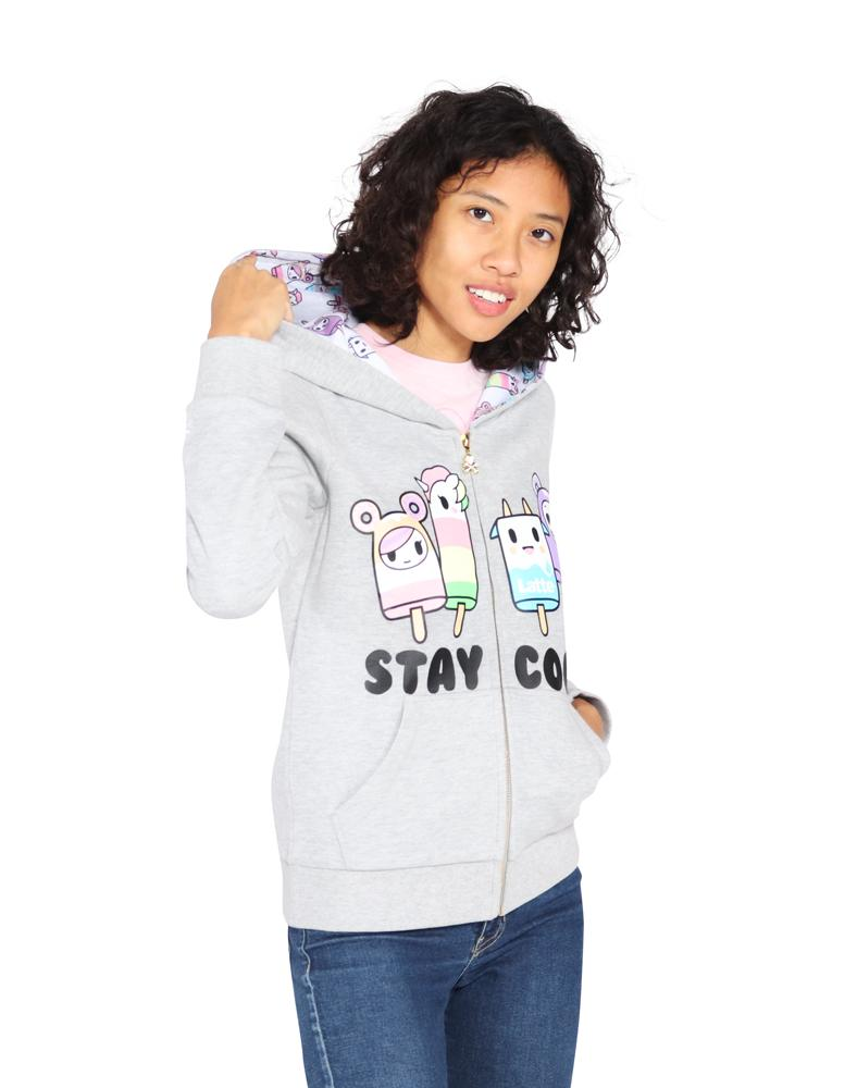 Stay Cool Hoodie Front Alt View