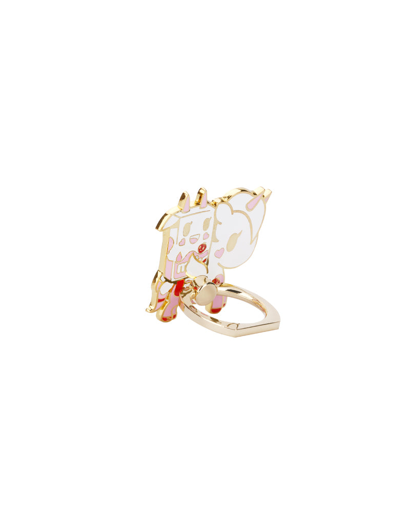Strawberry Milk & Rosa Latte Phone Ring Side View