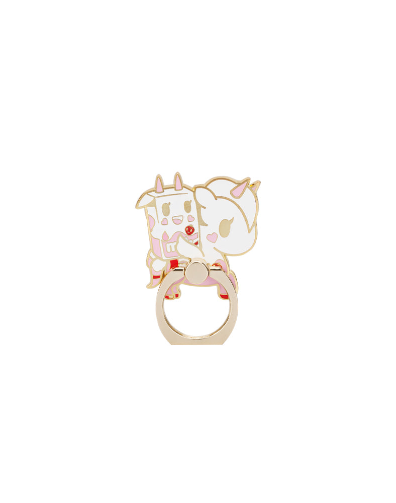 Strawberry Milk & Rosa Latte Phone Ring