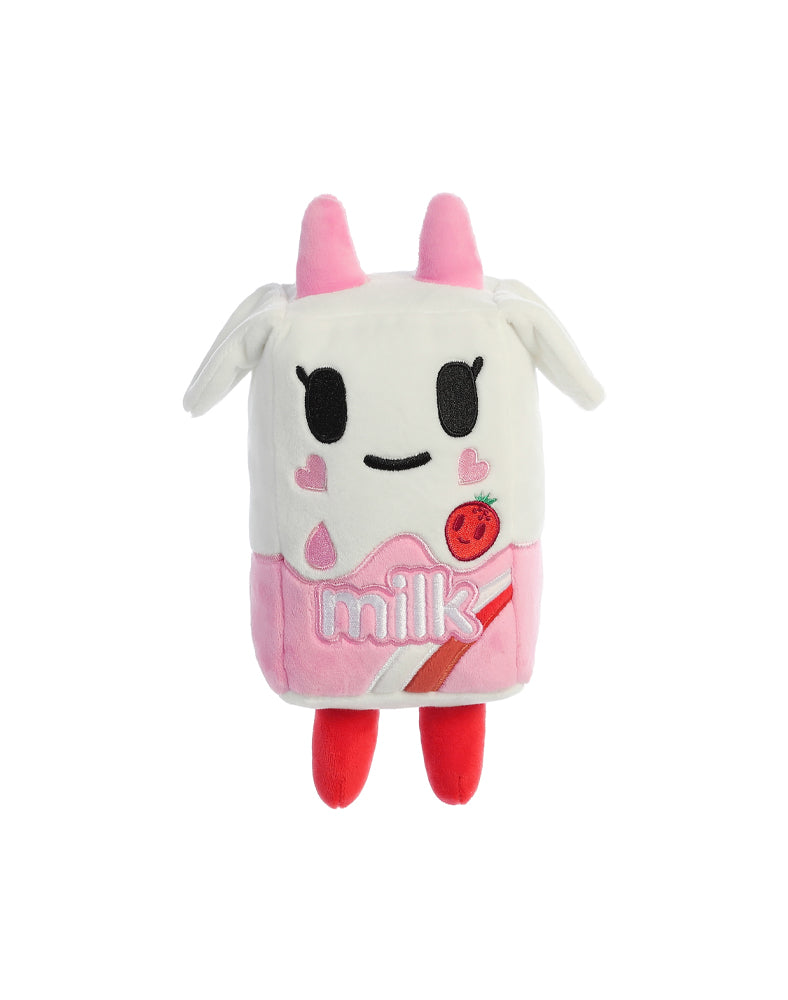 "Strawberry Milk 7.5"" Plush"