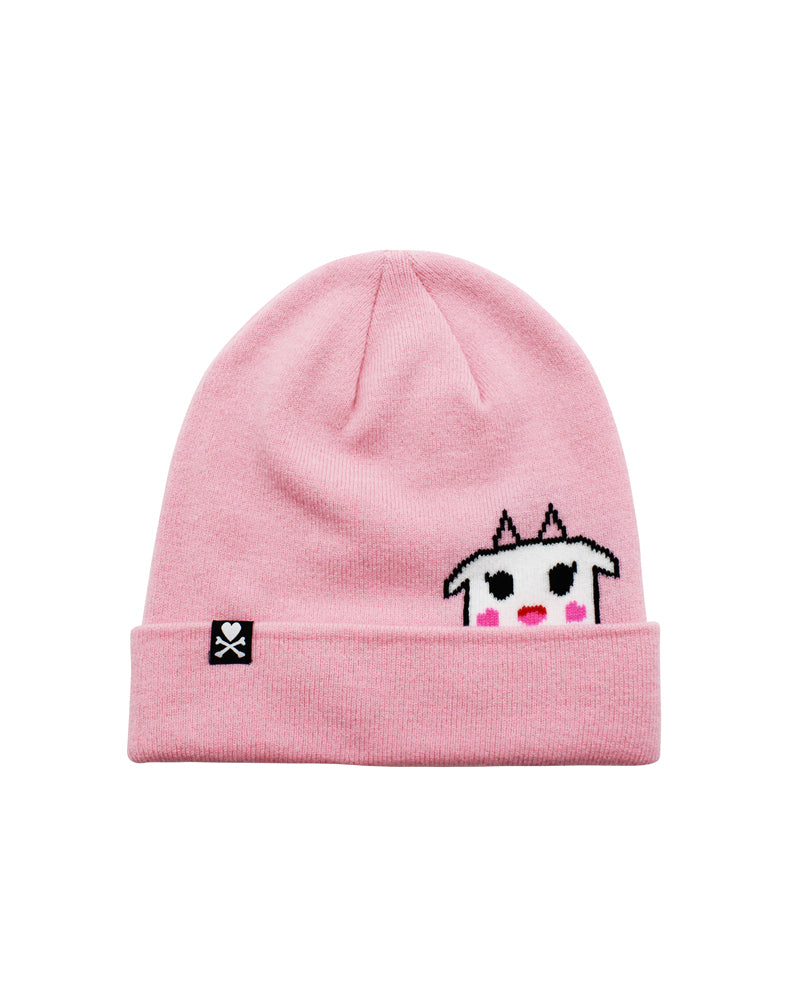 Strawberry Milk Beanie