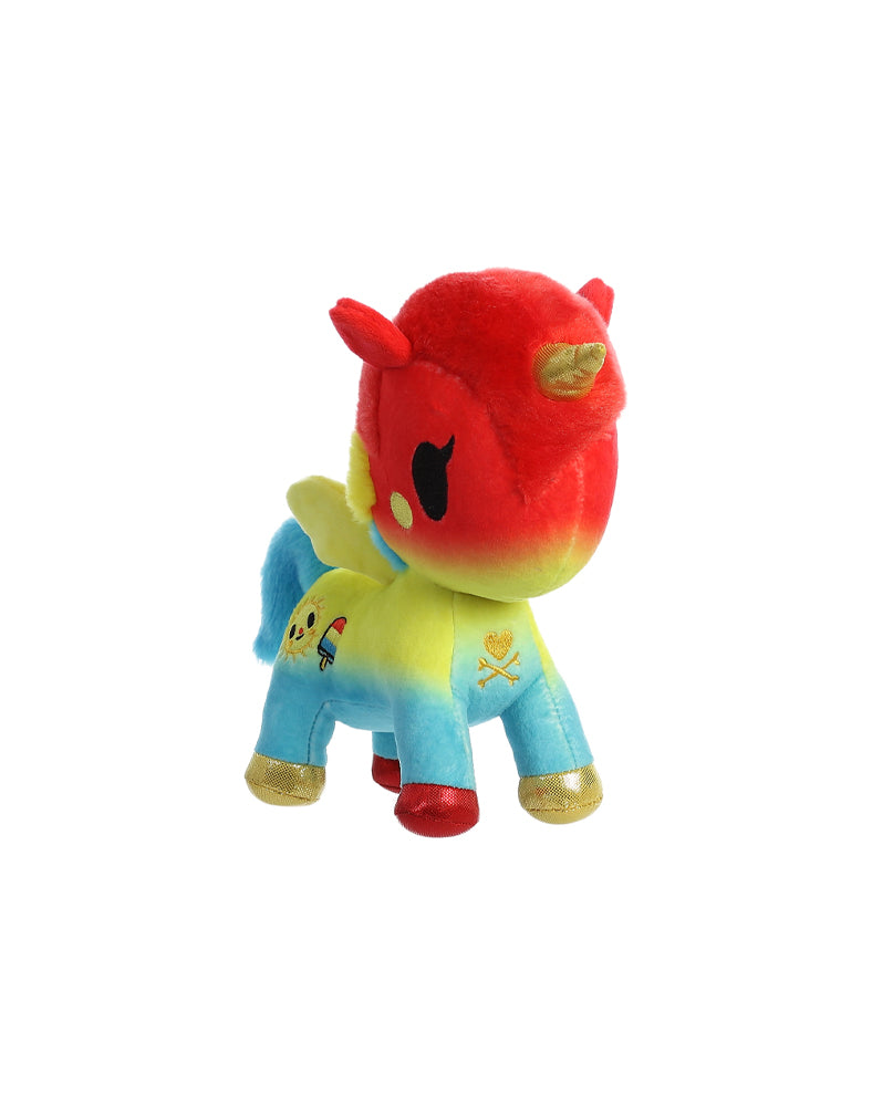 "Summer Unicorno 7.5"" Plush"