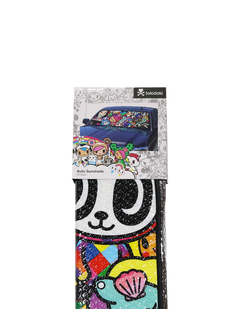tokidoki All Stars Accordion Sunshade folded