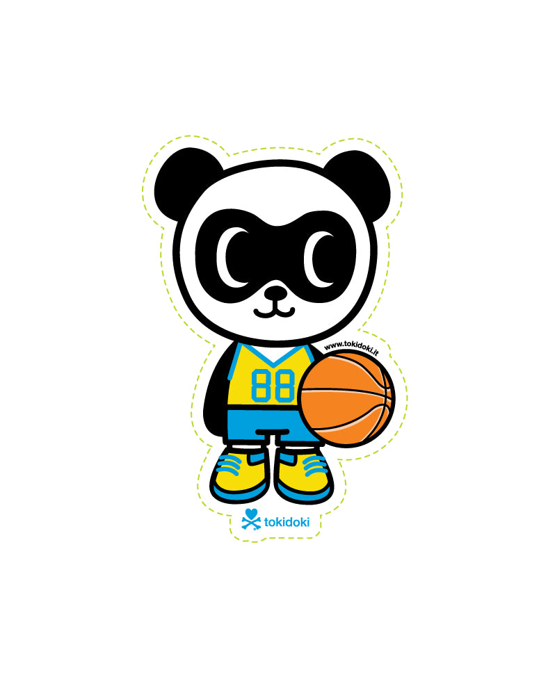 Super Panda Die Cut Sticker