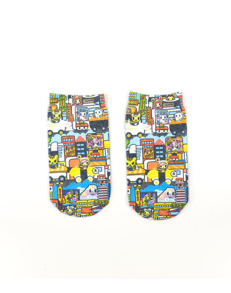 Sushi Cars Socks (Kids)