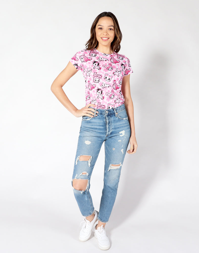 Sweet Blossom Tee front